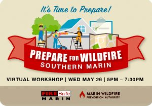 Prepare for Wildfire in Southern Marin with Jesse Figoni @ At your home on your computer